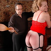 Females get spanked very hard